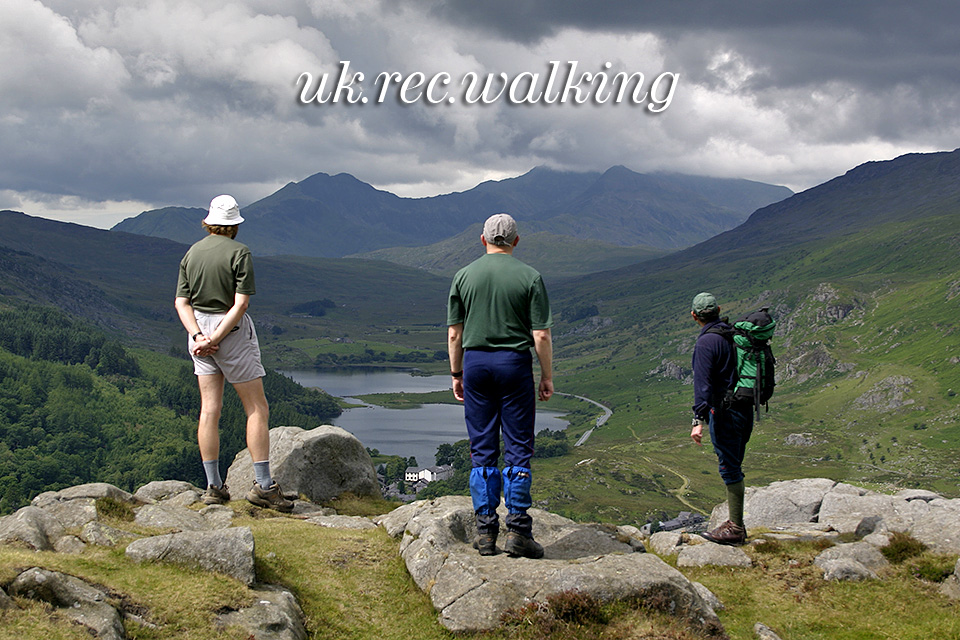 uk.rec.walkers looking at Snowdon
